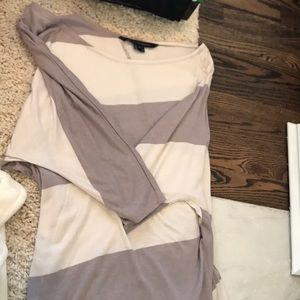 French Connection 3/4 top striped
